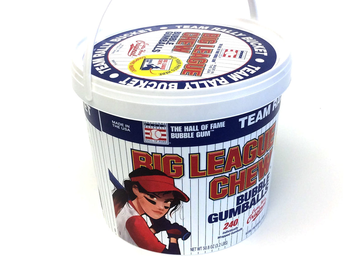 Big League Chew Girl Power - 2.1 oz pouch