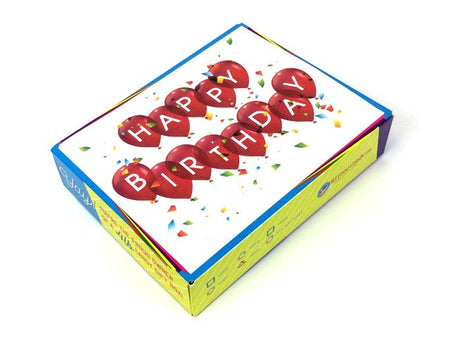 Birthday Decade Gift Box - Confetti Birthday