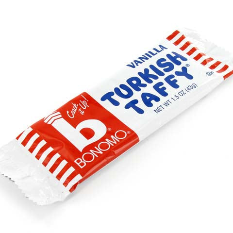 Bonomo's Turkish Taffy - 1.5 oz vanilla bar