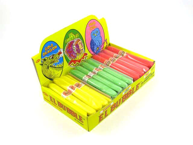 Bubble Gum Cigars - original flavors - box of 36