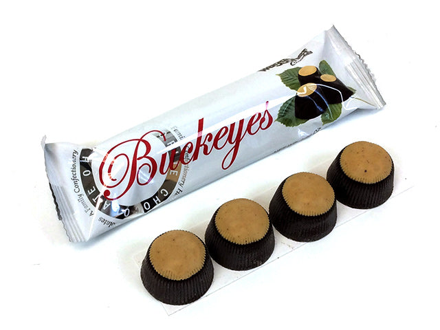 Buckeyes - Dark Chocolate - 1.66 oz 4-pack - box of 30