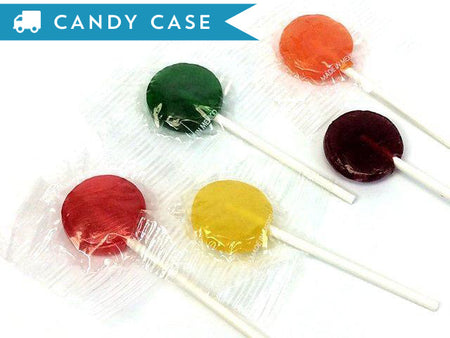 Lollipops - 1 inch - bulk 20 lb case (1440 ct)