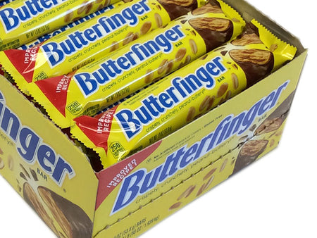 Butterfingers - 1.9 oz bar - box of 36 bars