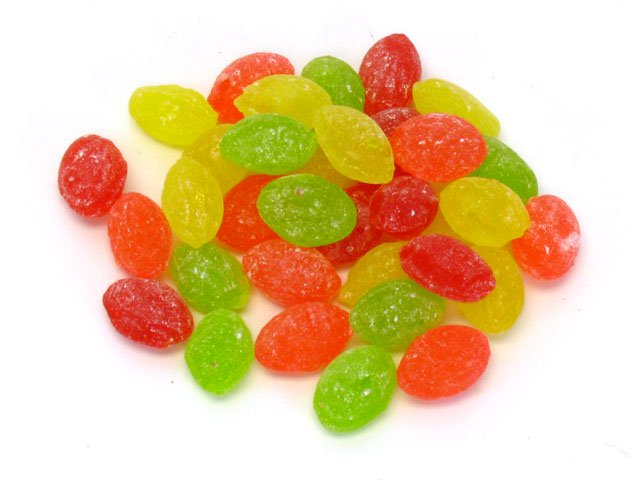 Candy Drops - assorted fruit flavors - 6 oz bag