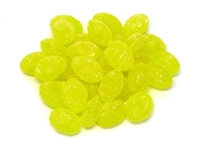 Candy Drops - lemon - 6 oz bag