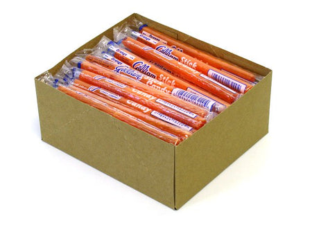 Stick Candy - orange - box of 80