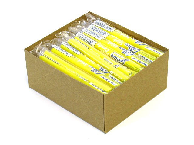 Stick Candy - rum and butter - box of 80