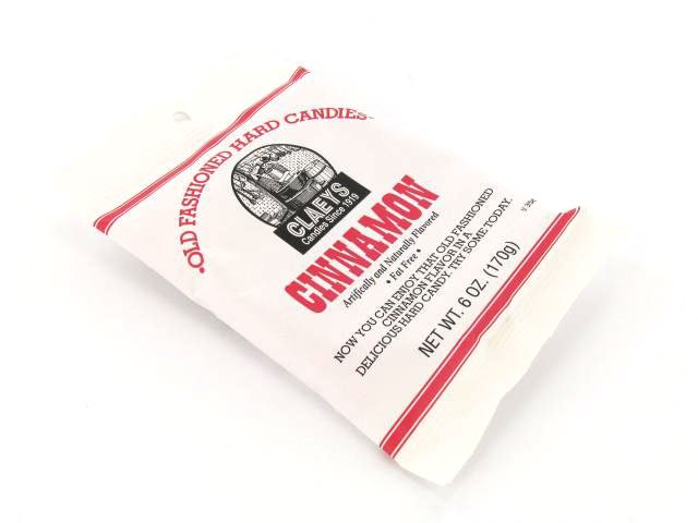 Candy Drops - cinnamon - 6 oz bag
