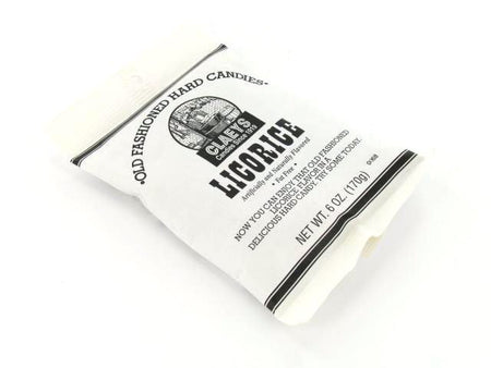 Candy Drops - licorice - 6 oz bag - case of 24