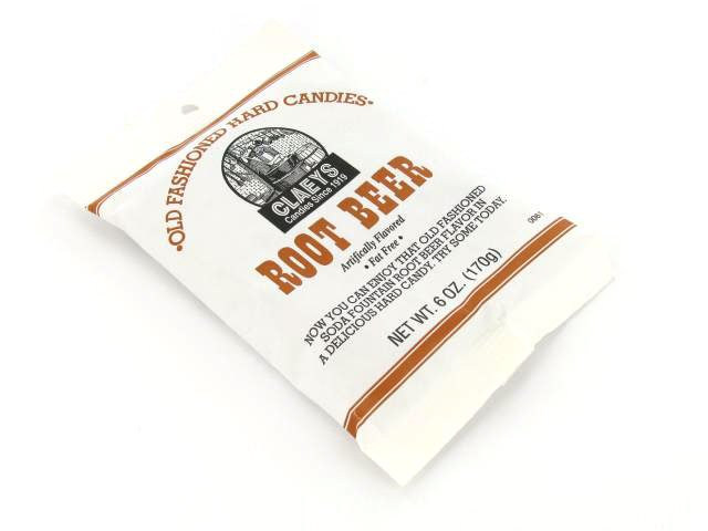 Candy Drops - root beer - 6 oz bag - case of 24