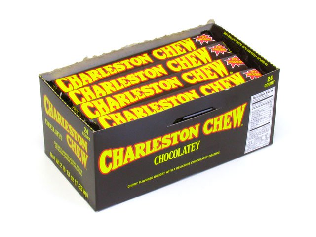 Charleston Chews - chocolate - 1.875 oz - box of 24