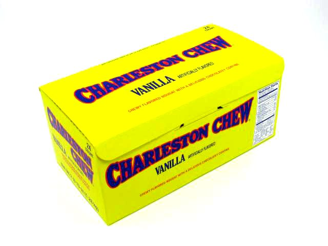 Charleston Chews - vanilla - 1.875 oz - box of 24