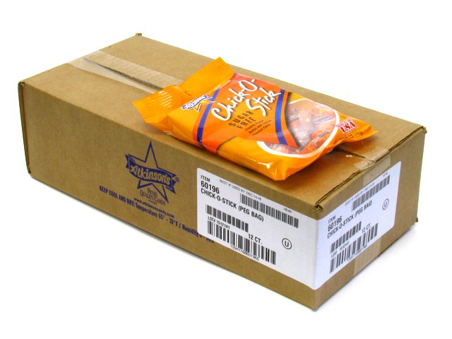 Chick-o-Sticks sugar-free - 3.75 oz bag - case of 12 (Candy)