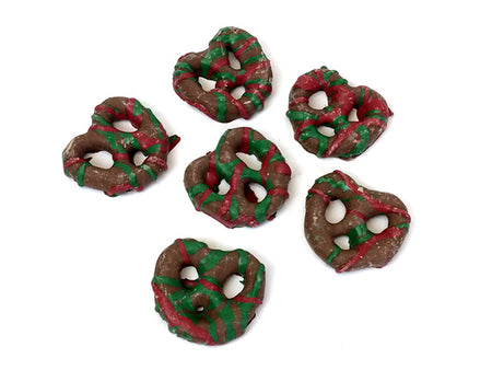 Chocolate Christmas Pretzels
