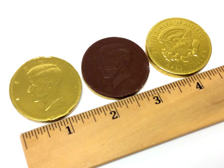 Chocolate Gold Coins - US Half Dollar