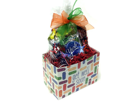 Chocolate and Nut Candy Lovers Gift Box - Get Well Soon