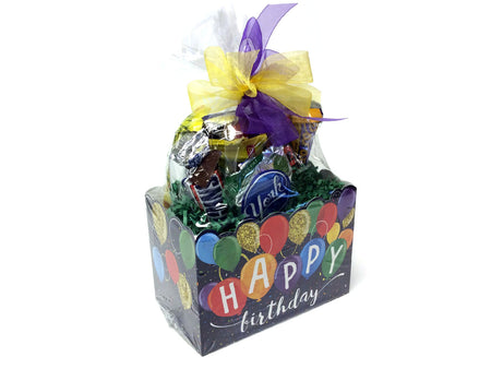 Chocolate and Nut Candy Lovers Gift Box - Happy Birthday