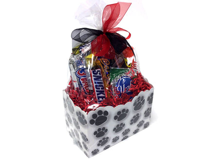 Chocolate and Nut Candy Lovers Gift Box - Paw Prints
