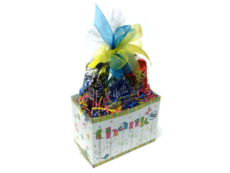 Chocolate and Nut Candy Lovers Gift Box - Thanks