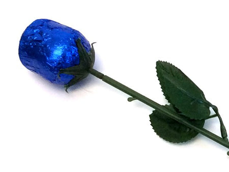 Blue Chocolate Rose