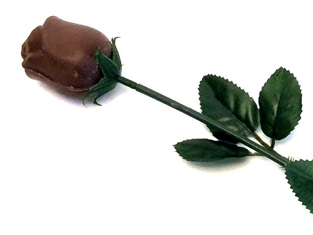 Chocolate Rose Unwrapped Foil