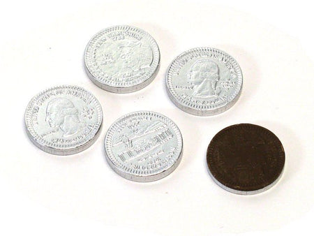 Chocolate Silver Coins - US Quarter - 1 piece