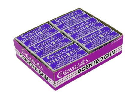 Choward's Scented Gum - box of 24