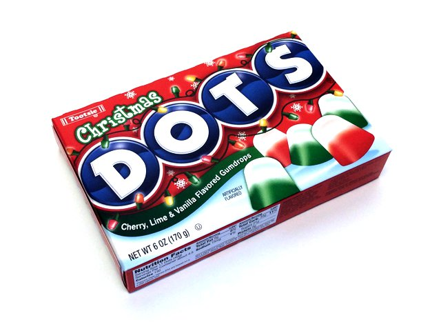 Dots Christmas - 6 oz theater box