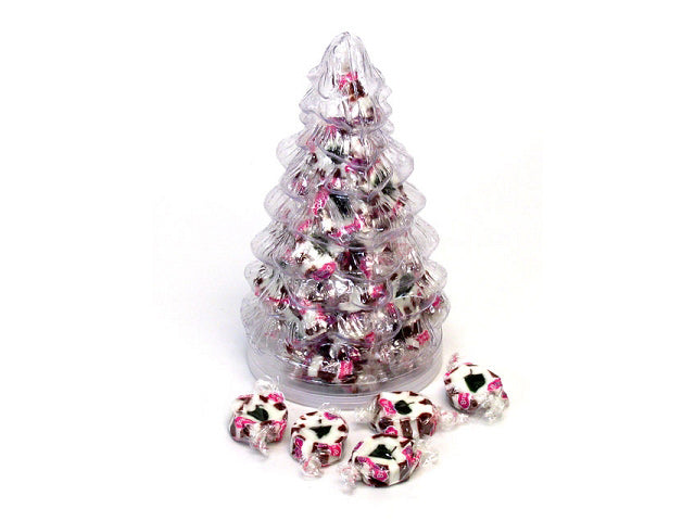 Christmas Tree filled with Brach's Peppermint Nougats