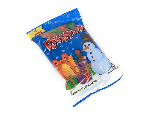 Christmas Ring Pop - 1.4 oz bag - 1 pop