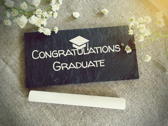 Graduation Decade Candy Gift Box - Congratulations Graduate