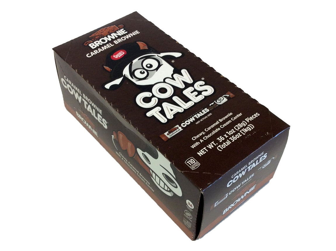 Cow Tales - chocolate - 1 oz piece - box of 36