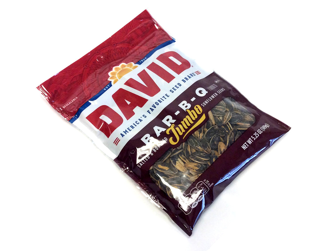 David Sunflower Seeds Bar-B-Q - 5.25 oz bag