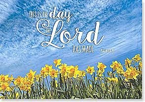 Easter Card - This is the day the Lord has made