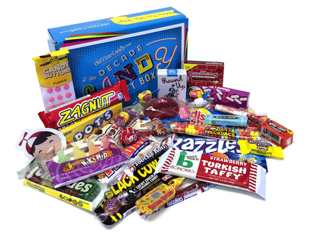 Decade Candy Gift Box 2 lb 1960's Assortment