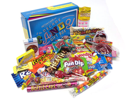 Decade Candy Gift Box 2 lb 1970's Assortment