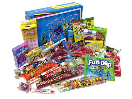 Decade Candy Gift Box 2 lb 1980's Assortment