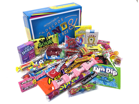 Decade Candy Gift Box 2 lb 1990's Assortment