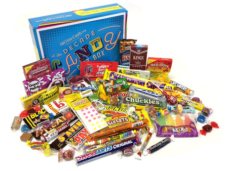 Decade Candy Gift Box 4 lb 1960's Assortment