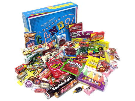 Decade Candy Gift Box 4 lb 1970's Assortment