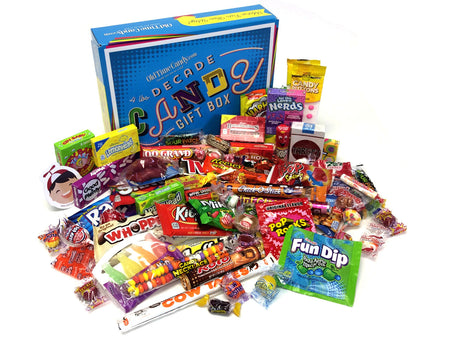 Decade Candy Gift Box 4 lb 1980's Assortment