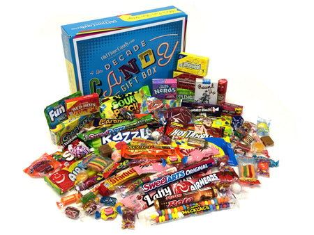 Decade Candy Gift Box 5 lb 1990's Assortment
