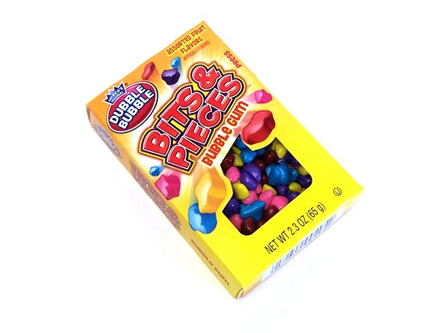 Dubble Bubble Bits & Pieces - 2.3 oz box