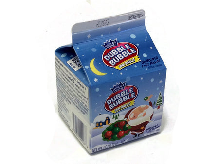 Dubble Bubble 4 oz Christmas Carton