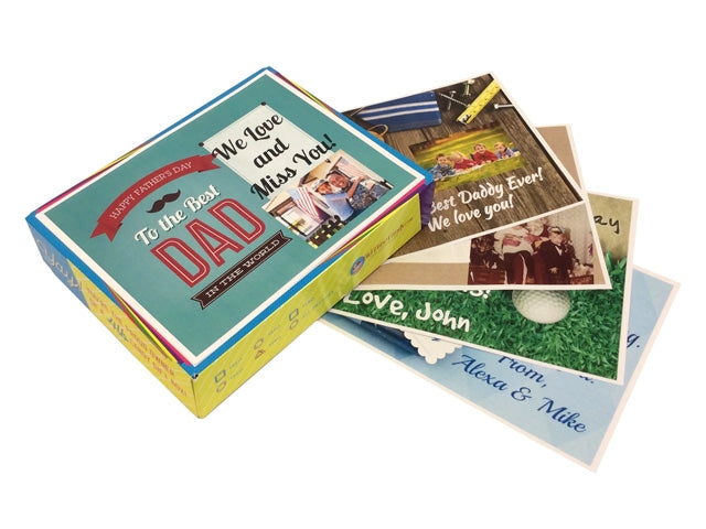 Personalized Father's Day Box Tops