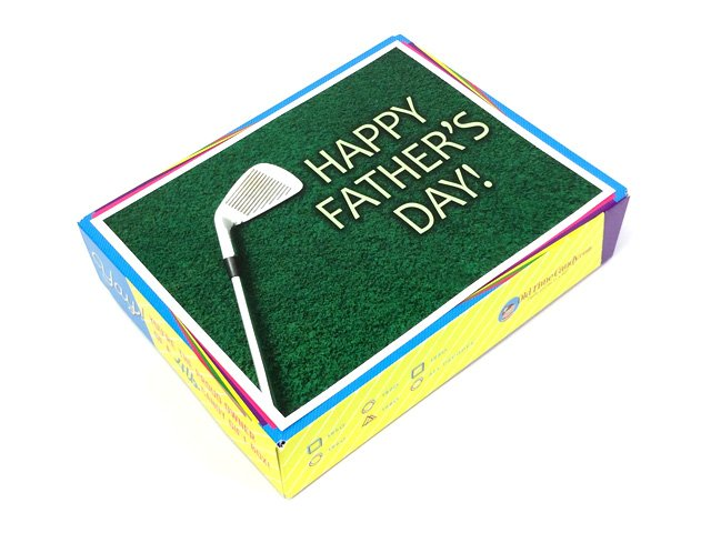 Father's Day Decade Gift Box - Father's Day Golf