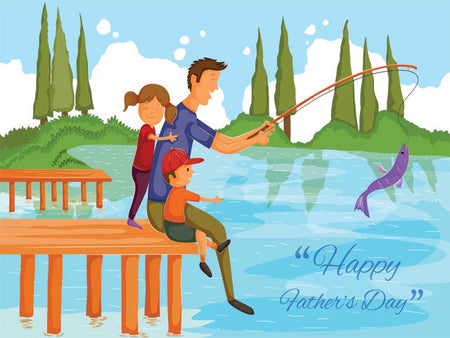 Father's Day Decade Gift Box - Father's Day Fishing