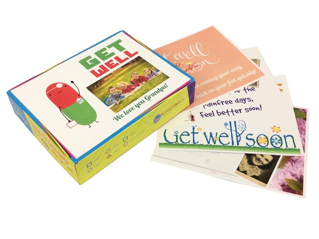 Personalized Get Well Soon Box Tops