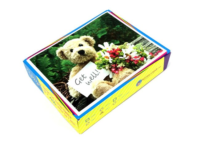 Get Well Soon Decade Gift Box - Teddy Bear