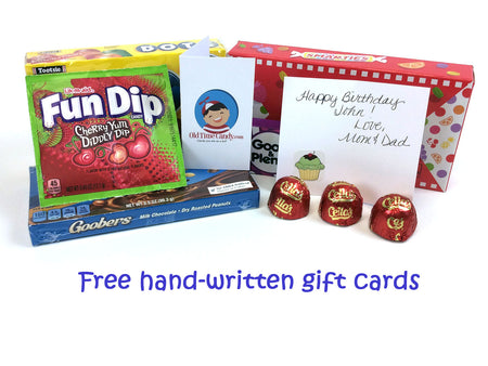 Free hand-written gift cards